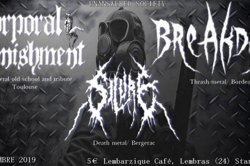 CORPORAL PUNISHMENT-BREAKDUST-SILURE  07 12 2019